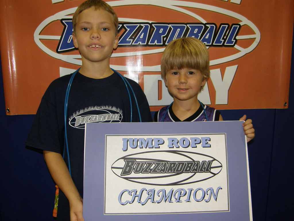 1ST & 2ND CHAMP: MAX SCHABER & MATTHEW SUTHERLAND (WARRIORS) -- 264 JUMPS (Schaber had 177 jumps: Sutherland had 87 jumps)