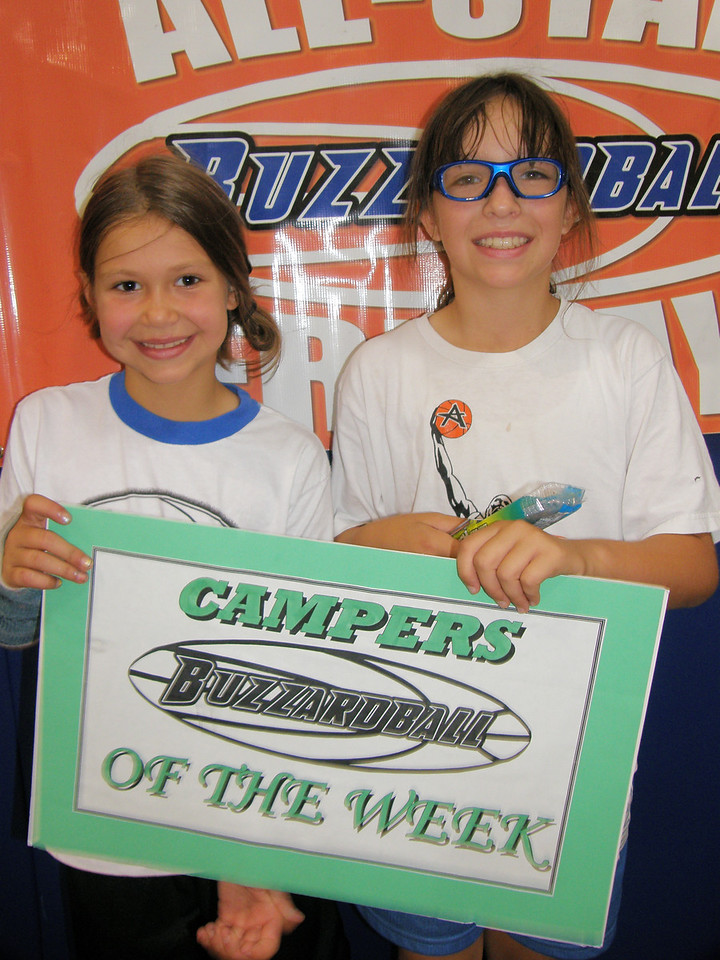 CAMPERS OF THE WEEK: WHITNEY WHEELER & GABBY PETTY