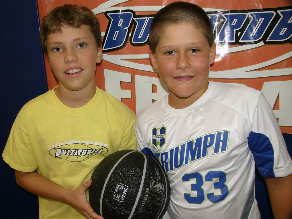 MAX AND LOGAN (TWOLVES): 10 POINTS