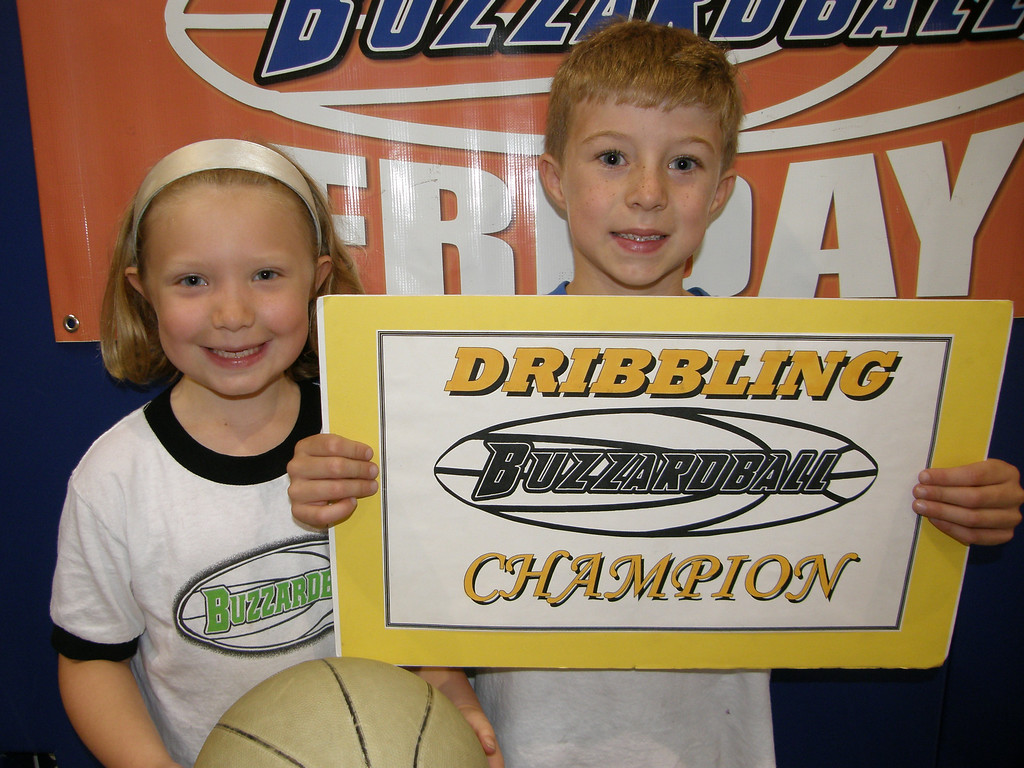 DRIBBLING CO-CHAMP: SOFIA DOMINIC & MICHAEL CHAMBERS (MAGIC) -- Sofia was solid and Michael did the 'crazy' butterfly move.