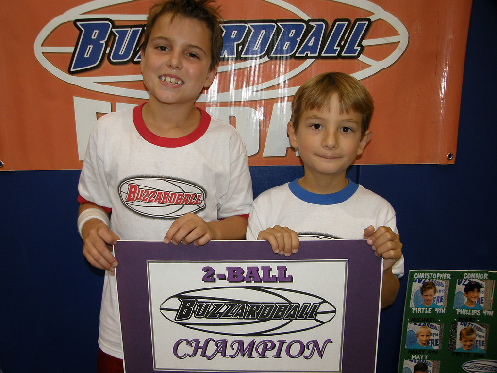 2-BALL CO-CHAMPS: CADE JOHNSON & DANTE DEIRO (LAKERS) -- 48 points (Note: Cade had a chance to win it, but missed on the final shot before the buzzer)