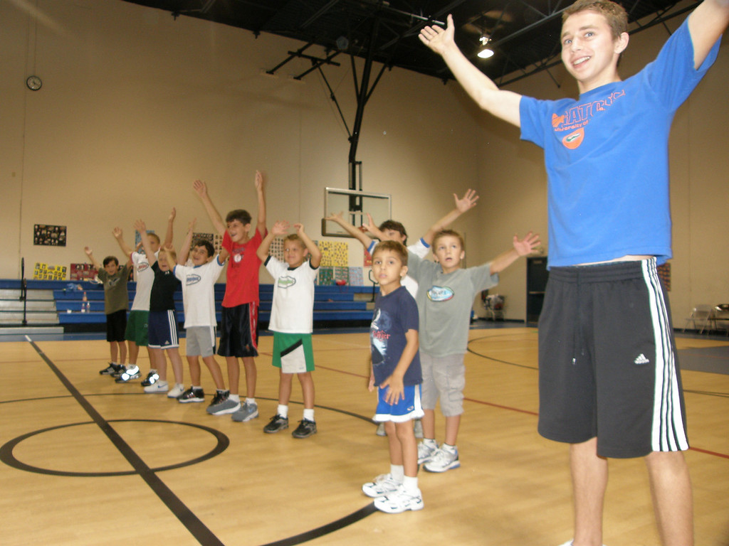 Here are the CAVS doing the YMCA -- they finished in 2nd place.