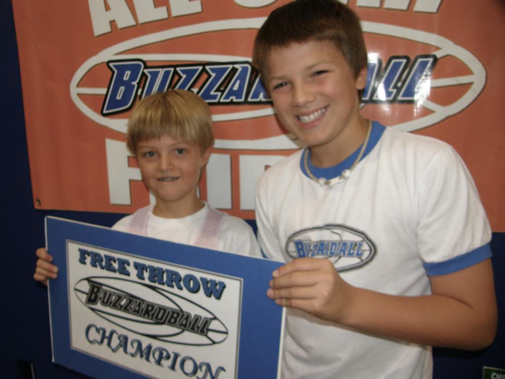 RYAN SCHELL & MAX BUZZARD (SPURS) -- 20 points