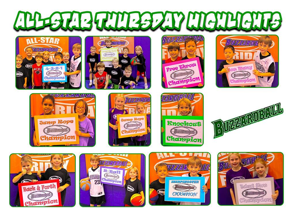 ALL-STAR THURSDAY HIGHLIGHTS