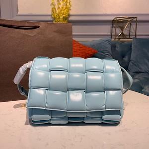 Bottega Veneta Padded Cassette Bag light blue