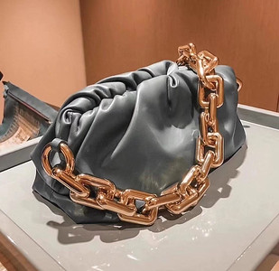 BV the chain pouch grey