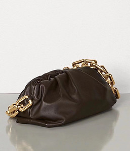 BV the chain pouch brown