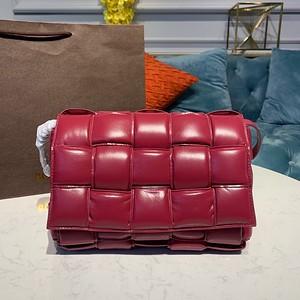 Bottega Veneta Padded Cassette Bag red