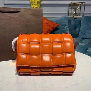 Bottega Veneta Padded Cassette Bag orange