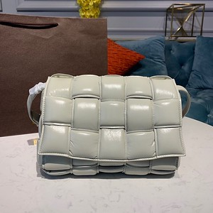 Bottega Veneta Padded Cassette Bag grey