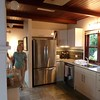 Sharon in the kitchen