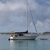 'Solitude' moored up at Marina Cay