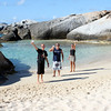 Jesper, Cristian and Sadie at Spring Bay