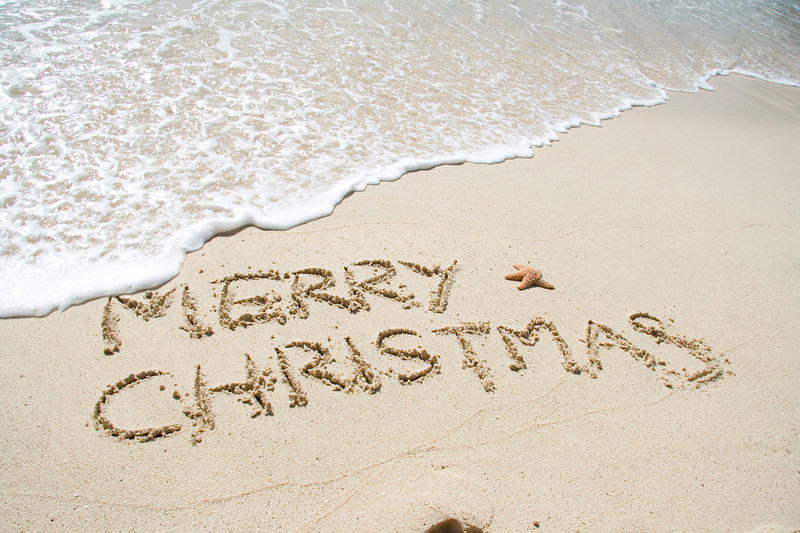 Christmas greetings Caribbean style