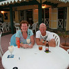 Joyce and Andrew enjoying life at Sebastian's.