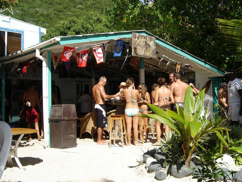 Soggy Dollar Bar, Jost Van Dyke.