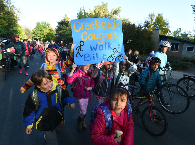 BVSD Walk to School Day