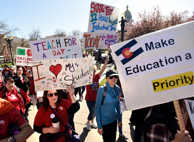Teacher Walkout