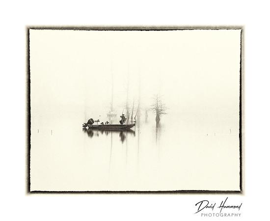 Foggy Fisherman