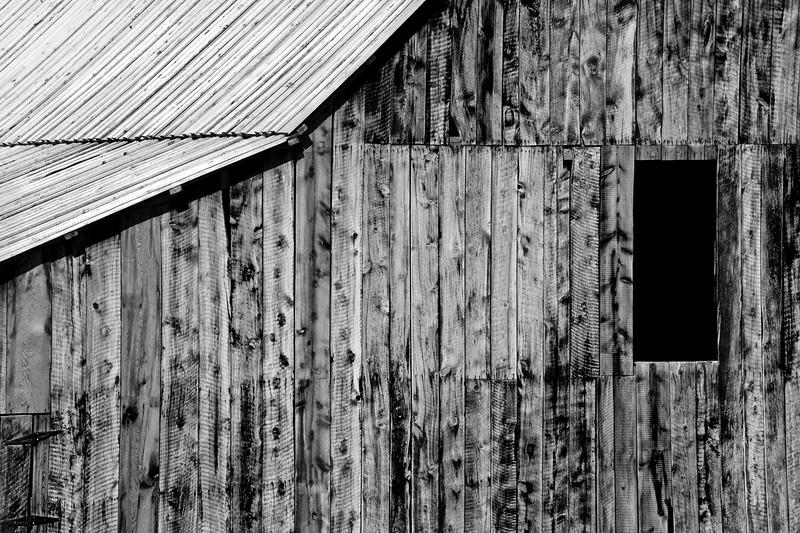 Old Barn Window