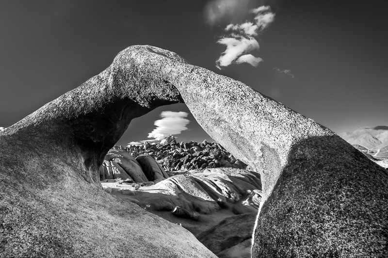 Mobius Arch with Cloud 3