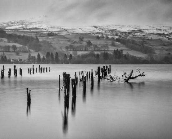 Snow Storm, Loch Tay