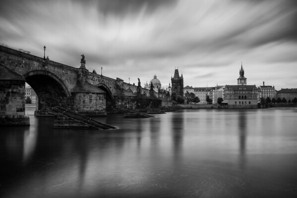 Wet Day, Charles Bridge