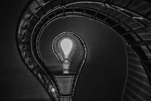 Lightbulb Staircase