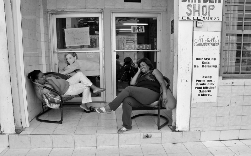 Relaxing - In the Markets of St. Maartin