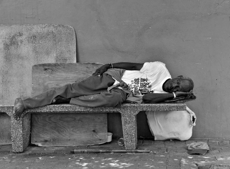 Nap Time | In the Markets of St. Maartin