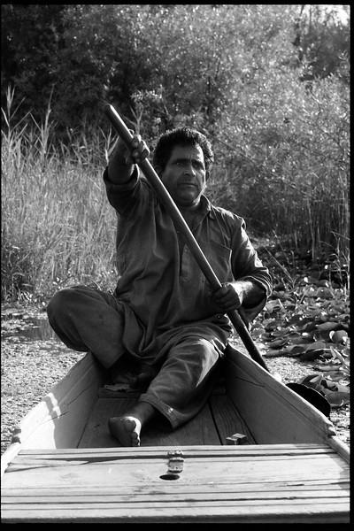 Dal Lake, Srinager 1987.