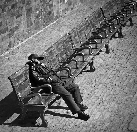 Afternoon nap at the Forbidden City