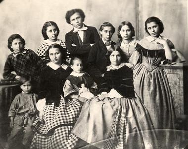 Die zehn Backofen Kinder (etwa 1860)