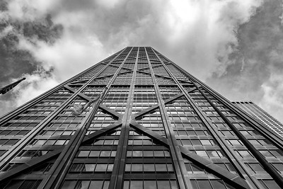 John Hancock Center Black and White