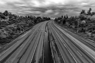 Empty Highway 16