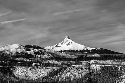 Mt. Washington Pierces a Painted Sky
