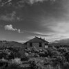 Abandoned house near Mono Lake