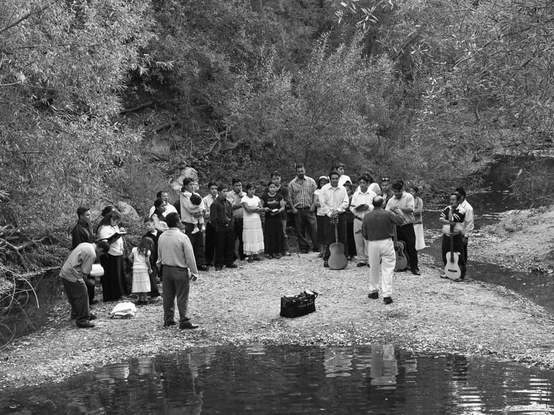 Malibu Creek Baptism