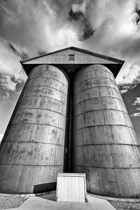 Grain Silos- Carson City, NV