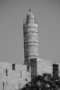 The Tower of David is an ancient citadel within the walls of the Old City of Jerusalem, near the Jaffa Gate.