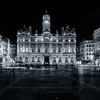 City Hall of Lyon in B/W