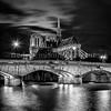 Notre Dame de Paris in B/W II