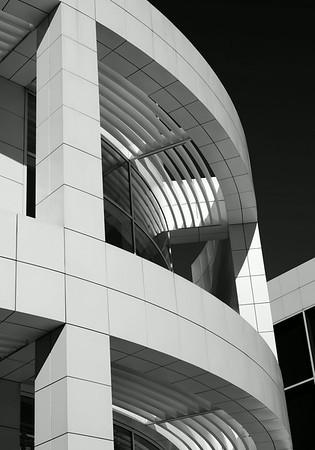Getty 14 x 20 main building BW psd