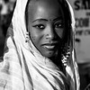Black and white: Portrait in Senegal