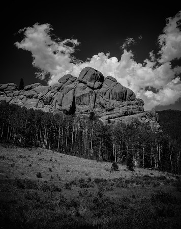 Cathedral Rocks vicinity, Victor, CO