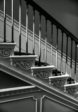 Staircase Rhode Island School of Design Museum