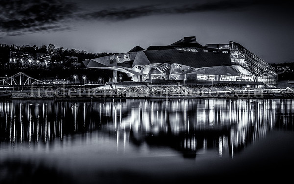 B/W Museum of Confluences at Lyon ...