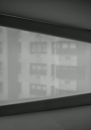 Old Whitney Museum window view NYC