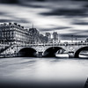The Seine at Paris in B/W ...