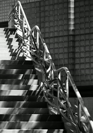 Outdoor Stairs at LACMA in LA